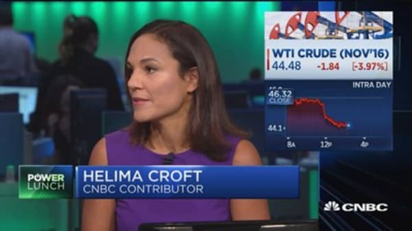 Crude crashes after Saudi announcement