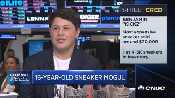 16-year-old sneaker mogul