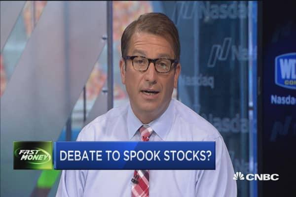 Debate to spook stocks?