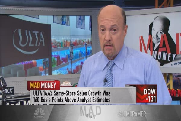 Cramer: What the heck just happened to Ulta Salon