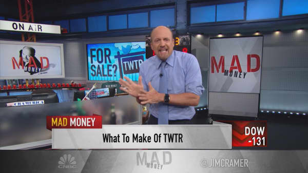 Cramer gets to the bottom of whether Twitter is really worth buying now