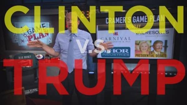 Cramer Remix: Presidential debate won't be good for business