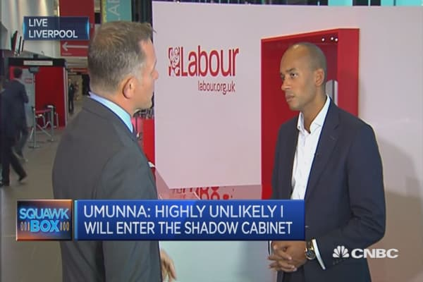 We're all Labour people in the Labour party: Chuka Umunna