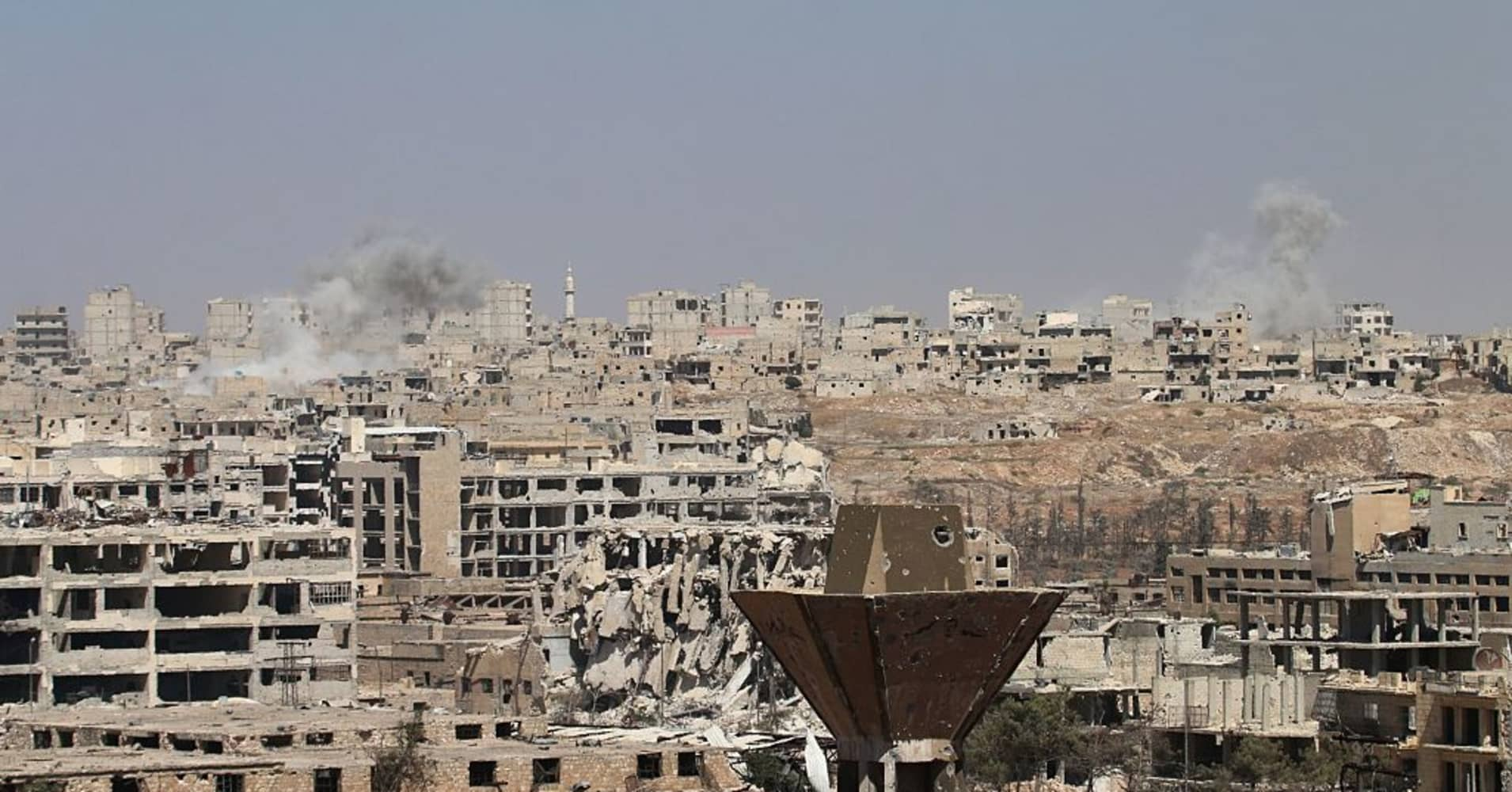 Syria A Quick Guide To What S Going On In Aleppo