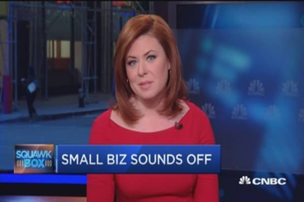 Small biz eyes debate
