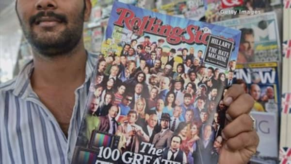Rolling Stone sells 49% stake to Singapore start-up