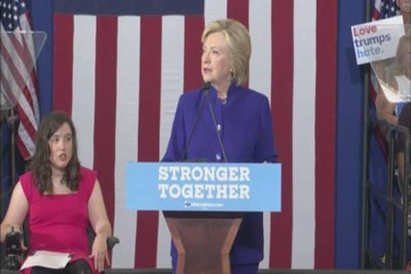 Trump rises in polls ahead of presidential debate