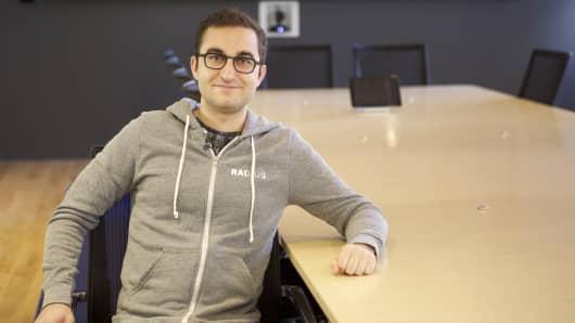 Radius CEO Darian Shirazi