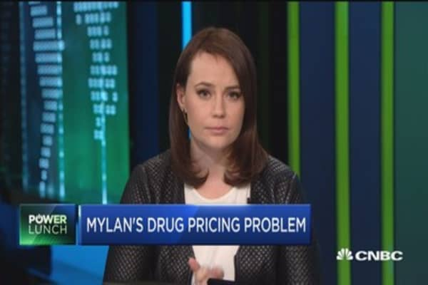 Mylan's drug pricing problem