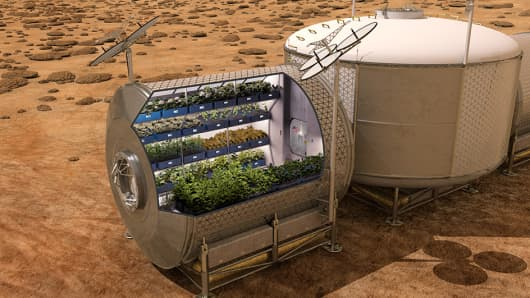 Mars food production concept to feed future astronauts on the Red Planet