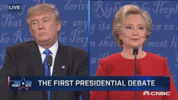 Trump: I have much better judgement, temperament than Clinton