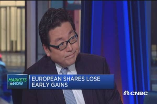 It all comes down to housing: Tom Lee