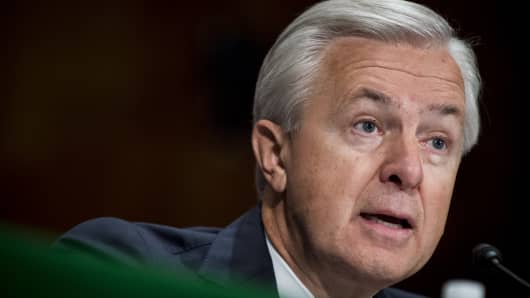 John Stumpf, chief executive officer of Wells Fargo & Co