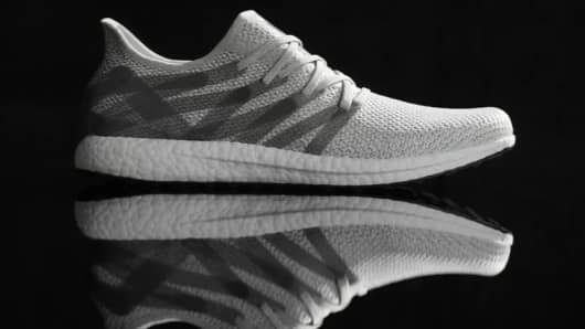 This Adidas shoe is made almost entirely by robots.