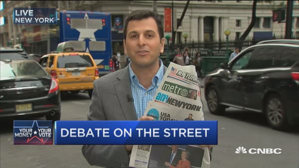 The debate: Street fight