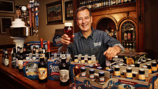 Jim Koch, co-founder and chairman of the Boston Beer Company