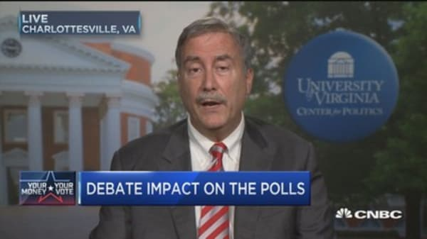 Sabato: A 'disastrous' debate for Trump
