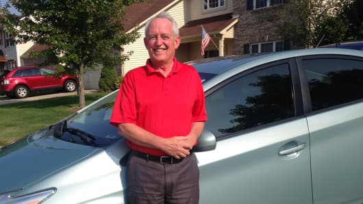 Craig Mitchell, 63, of Greenwood, Indiana, has been driving for Uber since March 2014.
