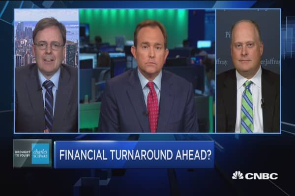 Trading Nation: Financial turnaround ahead?
