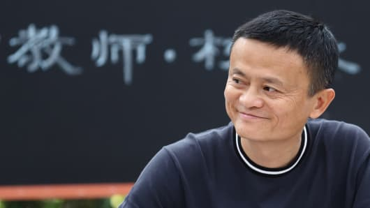 Alibaba Group Chairman Jack Ma
