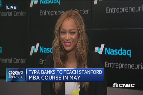 Tyra Banks: From supermodel to entrepreneur