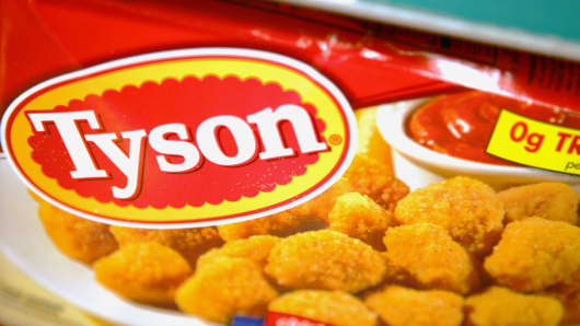 Tyson Recalls Some Chicken Nuggets Contamination Possible