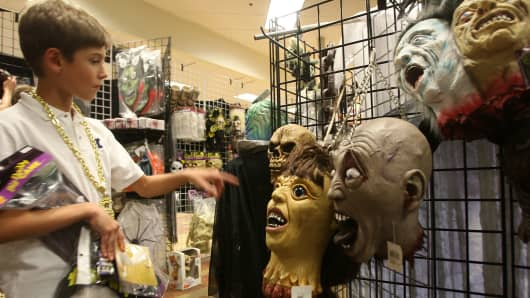 A Halloween Adventure store in Burbank, Calif.