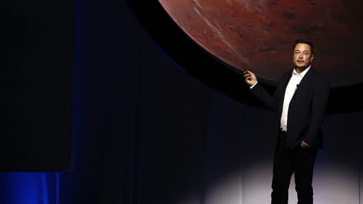 Musk's Space X mission to Mars