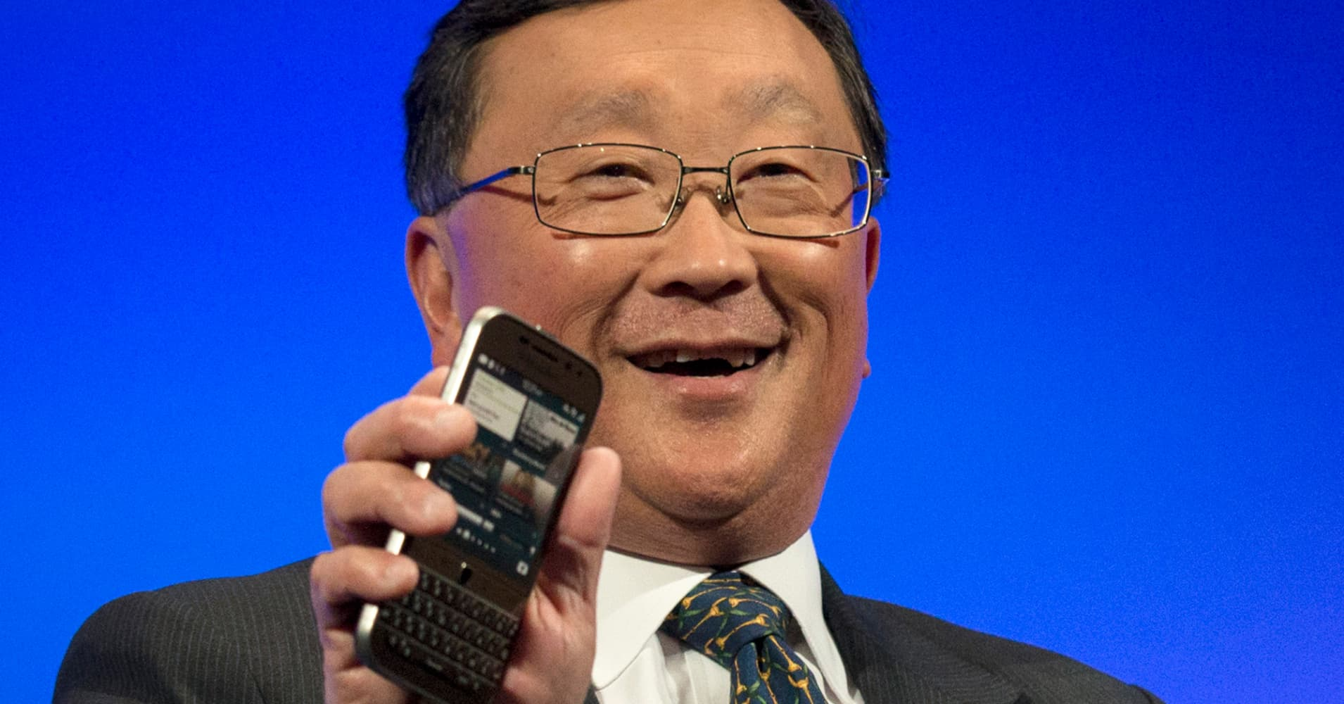 BlackBerry CEO John Chen has Turnarounds in his DNA