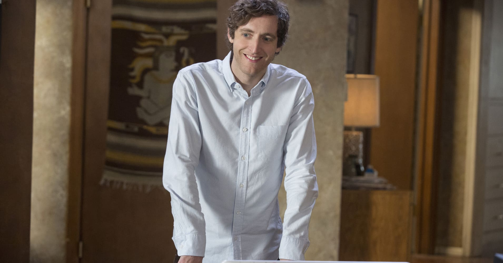 Thomas Middleditch featured in Silicon Valley an HBO original