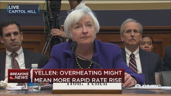Yellen: Monetary policy is accomodative