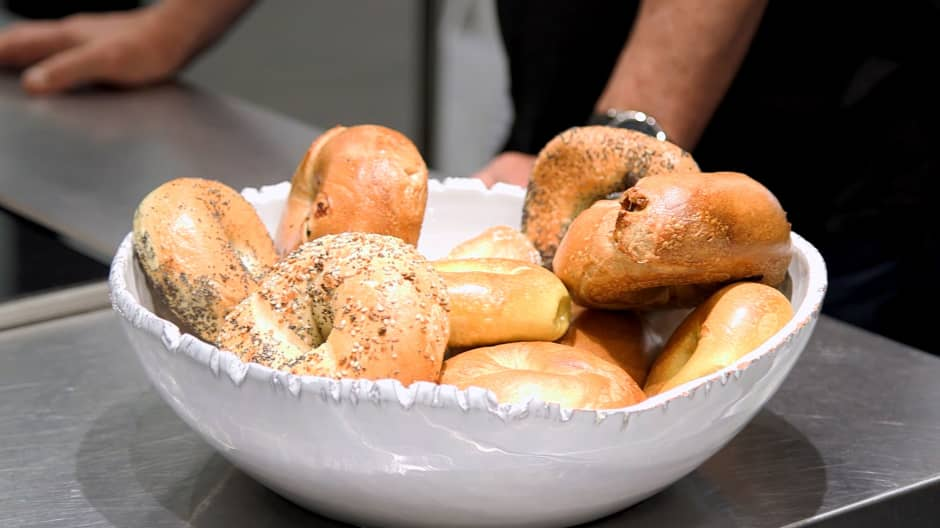 Cleveland Bagel Company offered their product in a taste test against New York's best.