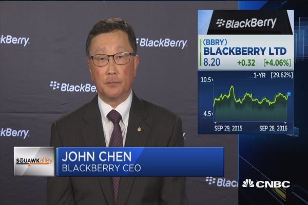 BlackBerry CEO on hardware