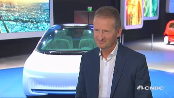 Volkswagen Brands CEO: 'The situation is under control'
