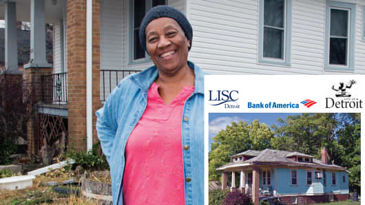 Lillie Gibson, 76, rehabbed her home of 47 years with a 0% Home Repair Program loan