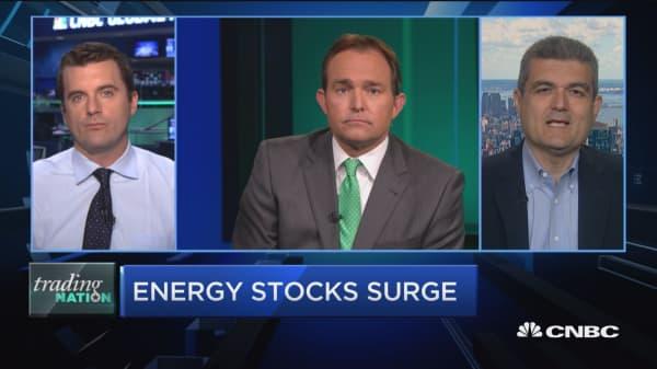 Trading Nation: Energy stocks surge