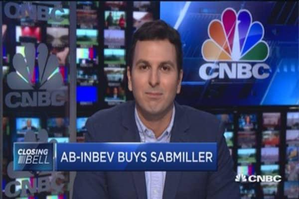 AB-InBev buys SABMiller