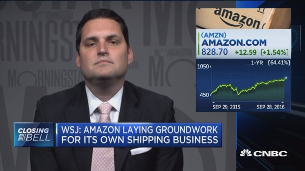 Will Amazon compete directly with UPS and FedEx?