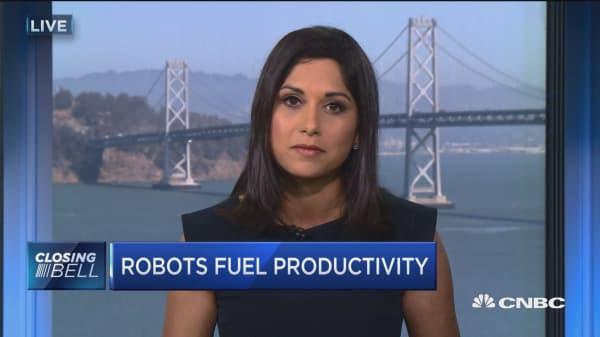 Robots fuel productivity