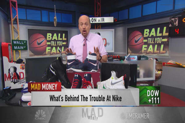 Cramer: The hidden culprit that tripped up Nike