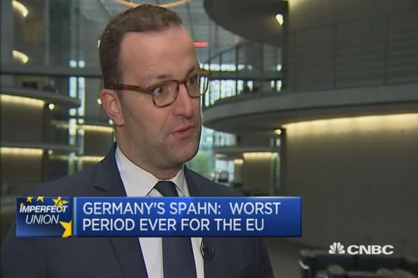 The EU is in worst times ever: Germany Deputy FinMin