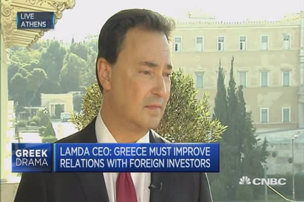 Greece needs privatizations to restore confidence: CEO