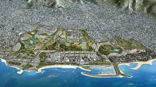 The Hellinikon project.