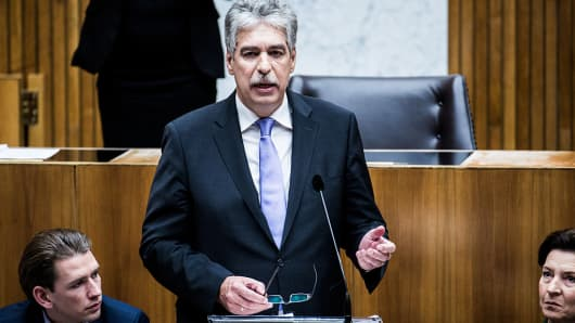 Hans Joerg Schelling, Austria's finance minister.