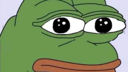 An image of Pepe the Frog