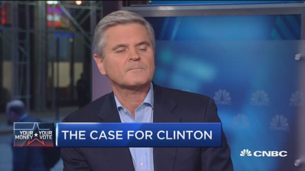 Why I'm endorsing Hillary Clinton: Steve Case