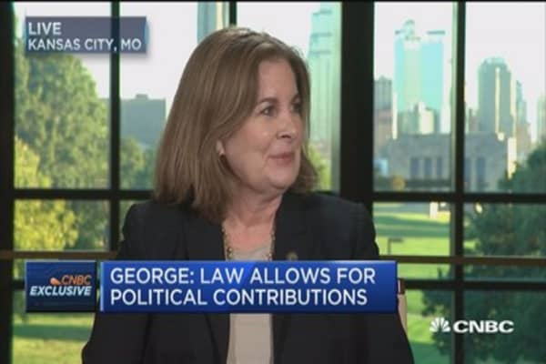 Esther George: Politics not a factor for Fed