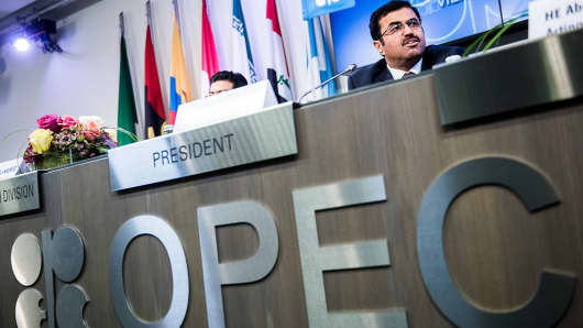 Mohammed Al-Sada, Qatar's minister of energy and industry and president of OPEC