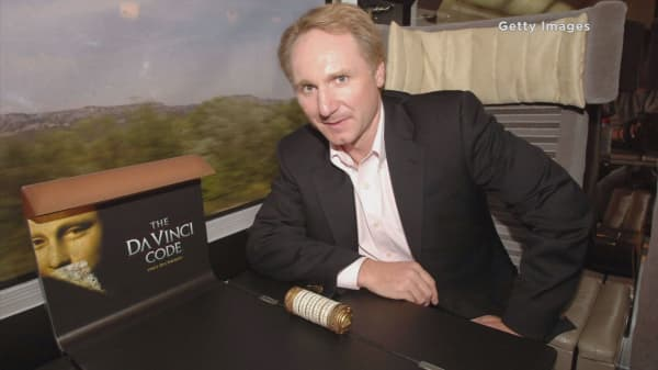 Author who wrote 'Da Vinci Code' to release new novel