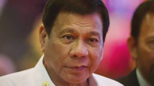 Rodrigo Duterte won't work with US anymore
